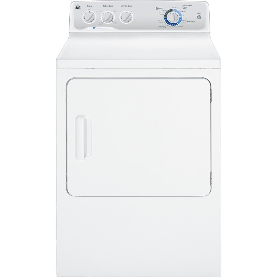 GE 7-cu ft Electric Dryer (White)