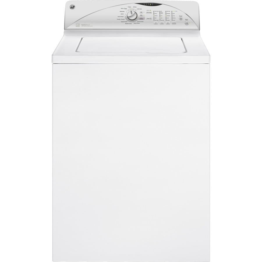 GE 3.9-cu ft Top-Load Washer (White)