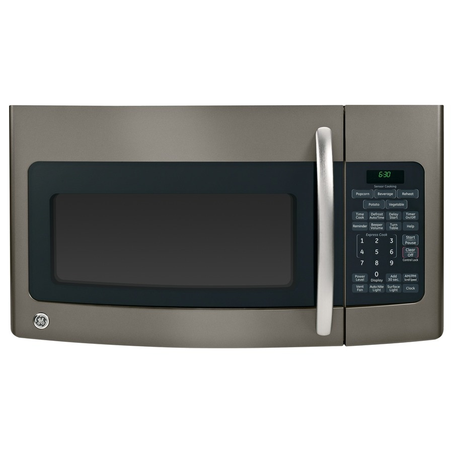 ge 17 cu ft microwave slate - General Electric Microwave