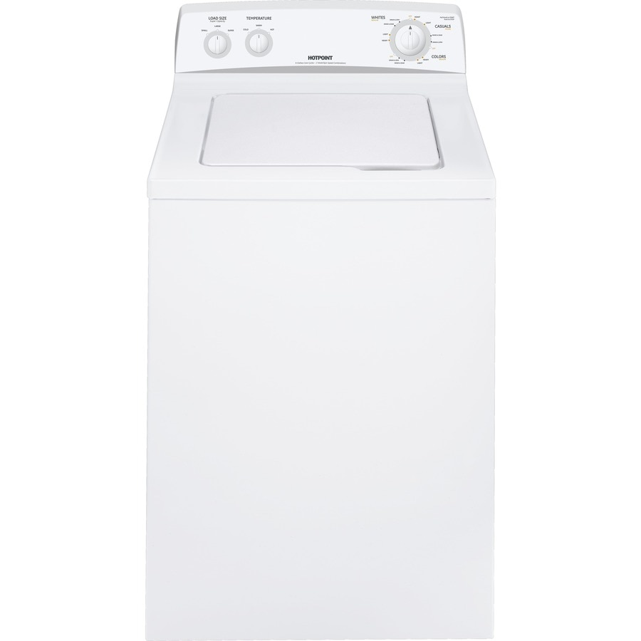 Shop Hotpoint 36cu ft TopLoad Washer White at Lowescom