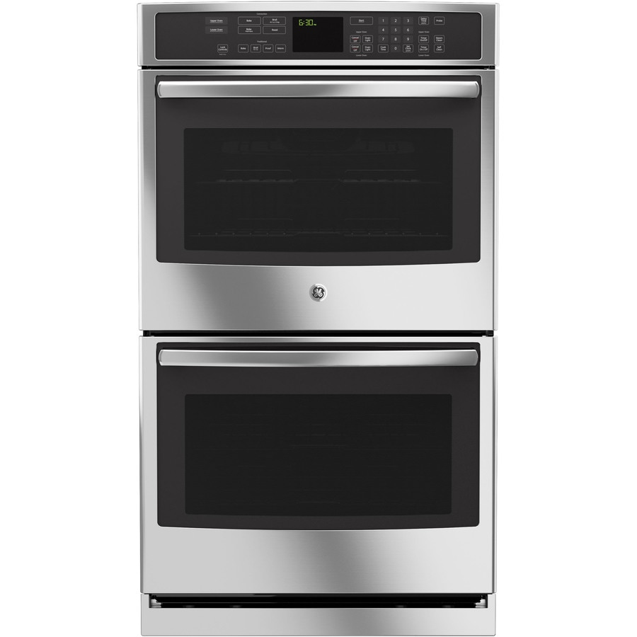 GE Profile Self-Cleaning Convection Double Electric Wall Oven (Stainless Steel) (Common: 30-in; Actual: 29.75-in)
