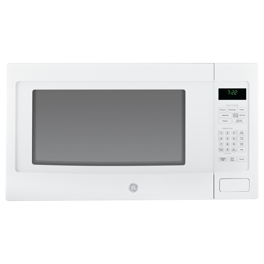 GE Profile 2.2-cu ft 1,100-Watt Countertop Microwave (White)
