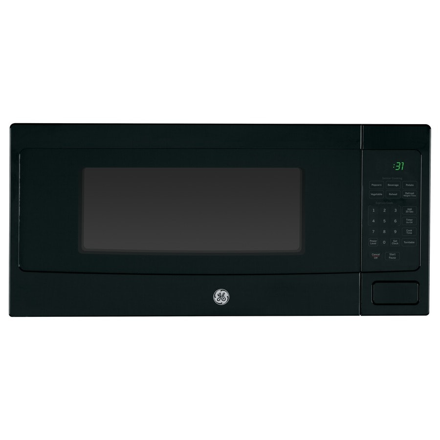 Ge Profile 1 1 Cu Ft 800 Watt Countertop Microwave Black