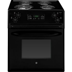 Ge 27 In 3 Cu Ft Self Cleaning Drop Electric Range