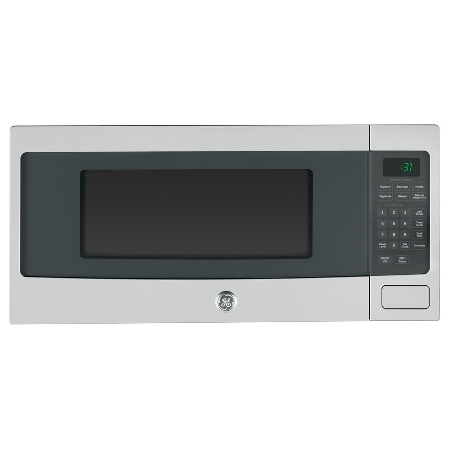 Countertop Microwave Black Stainless : ... cu ft 800-Watt Countertop Microwave (Stainless Steel) at Lowes.com