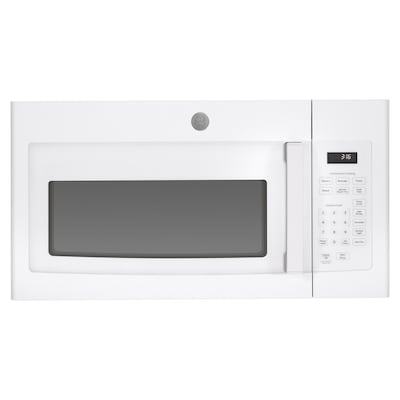 1 6 Cu Ft Over The Range Microwave White Common 30 In Actual 29 875