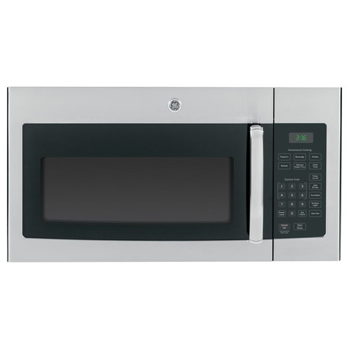 GE 1.6-cu ft Over-the-Range Microwave (Stainless Steel) at Lowes.com