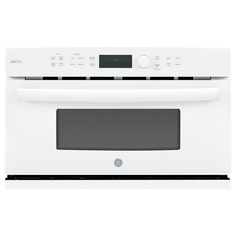 GE Profile Advantium Convection Single Electric Wall Oven Speed Cook (White) (Common: 30-in; Actual 29.7812-in)