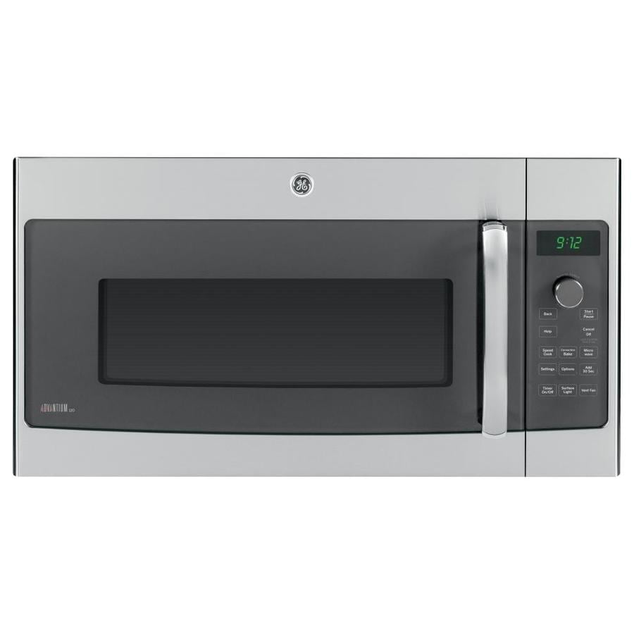 Shop Ge Profile Advantium 1 7 Cu Ft Over The Range