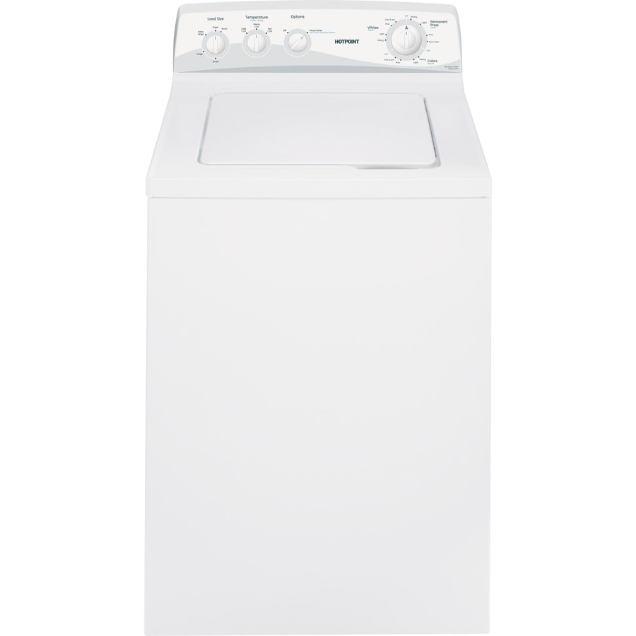 Hotpoint 3.7-cu ft Top-Load Washer (White)