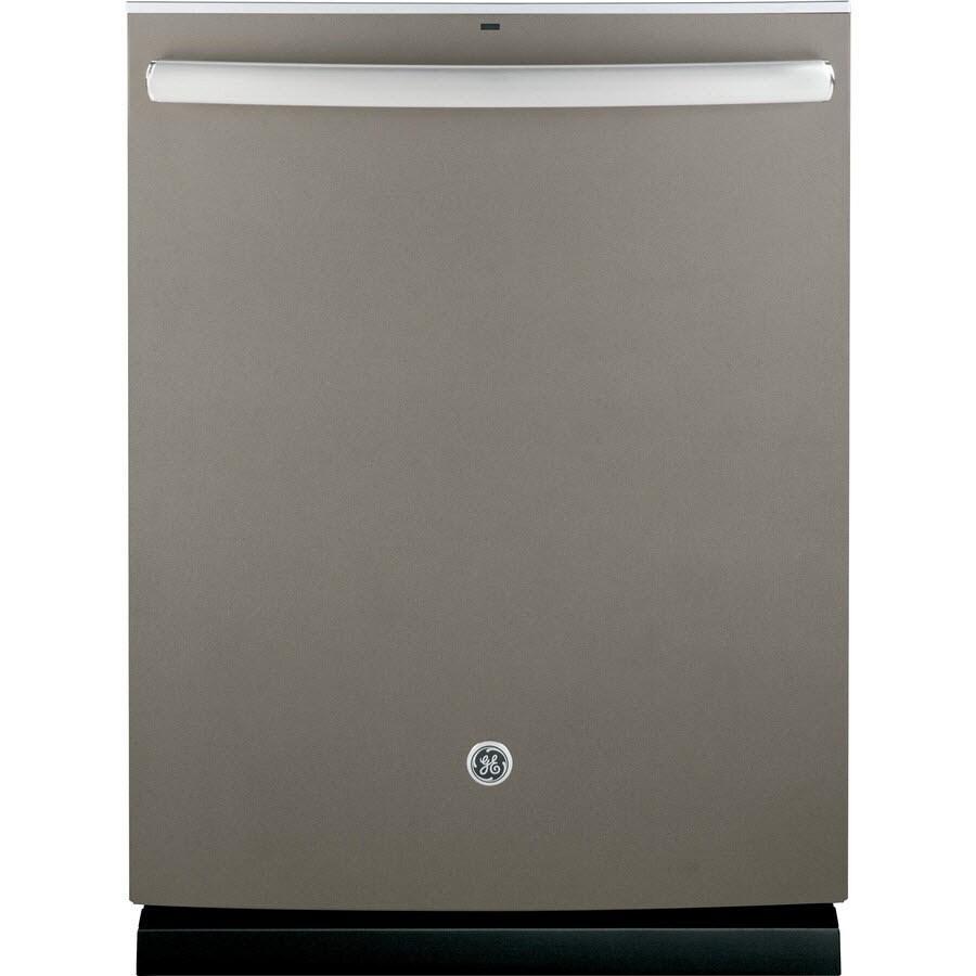 GE 48-Decibel Built-in Dishwasher (Slate) (Common: 24-in; Actual: 23.75-in)