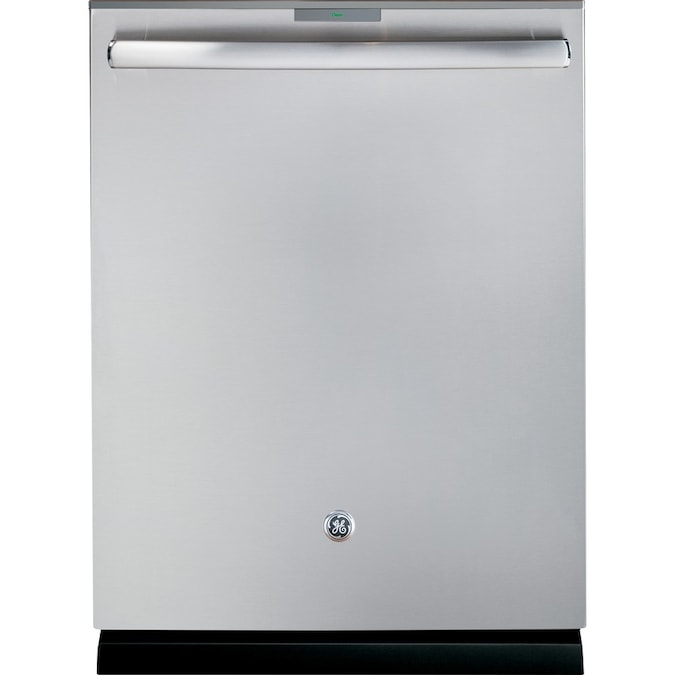 Ge Profile Series 40 Decibel Built In Dishwasher With Bottle Wash Feature And Hard Food Disposer Stainless Steel Common 24 In Actual 23 75 In Energy Star In The Built In Dishwashers Department At Lowes Com