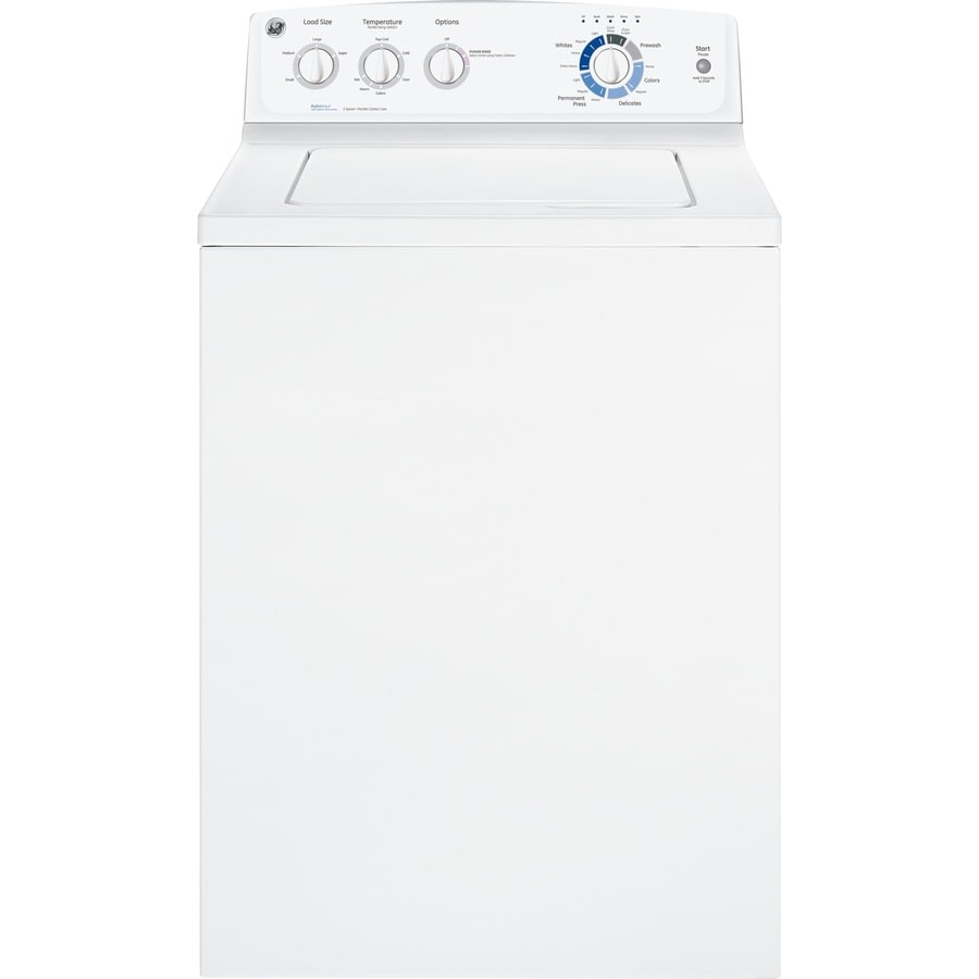 GE 3.7-cu ft Top-Load Washer (White)