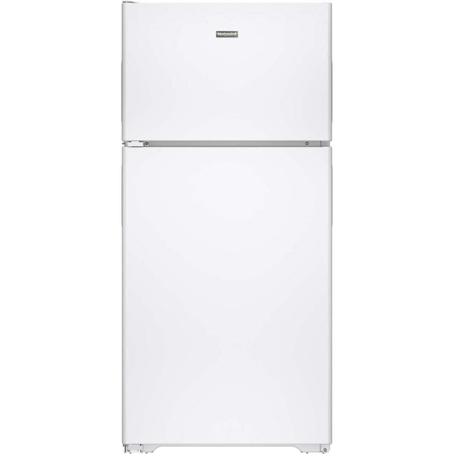 Hotpoint 14.6-cu ft Top-Freezer Refrigerator (White)