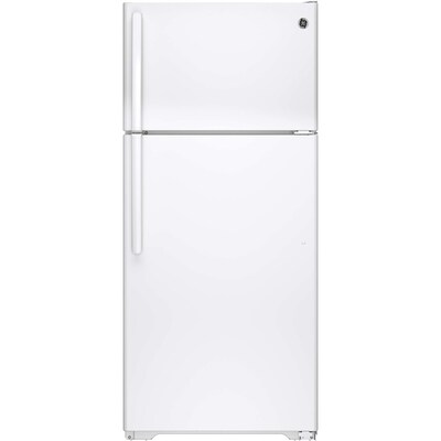 GE 15 53-cu ft Top-Freezer Refrigerator (White) ENERGY STAR