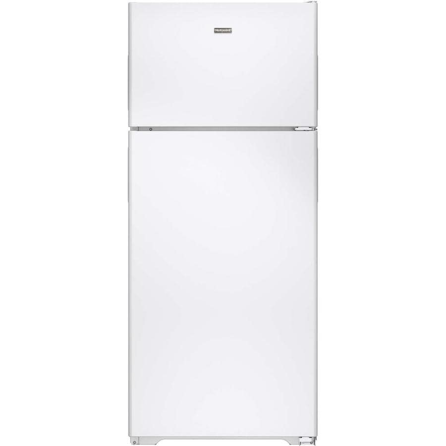 Hotpoint 17.6-cu ft Top-Freezer Refrigerator (White)