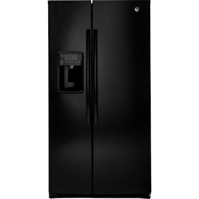 GE 25 4-cu ft Side-by-Side Refrigerator with Ice Maker