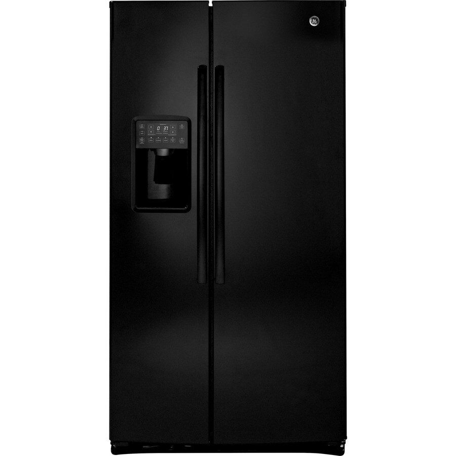 refrigerator ge profile. ge profile 25.4-cu ft side-by-side refrigerator with ice maker ( ge