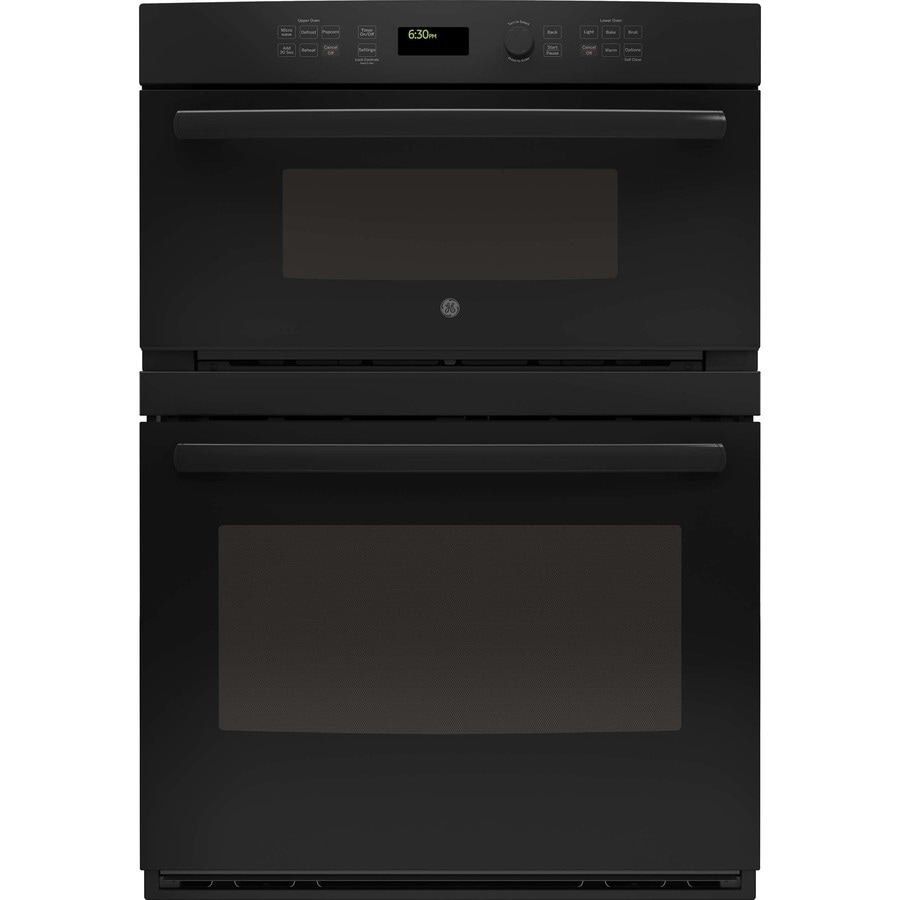 Ge Self Cleaning With Steam Microwave Wall Oven Combo