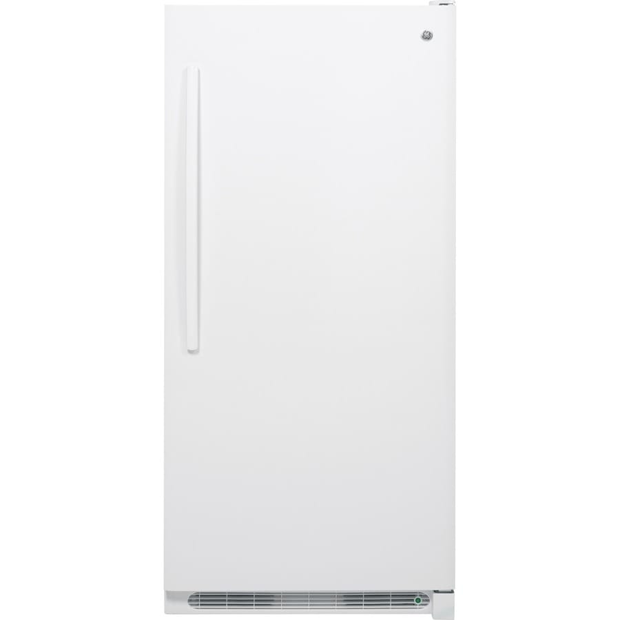 GE 20.9-cu ft Upright Freezer (White)