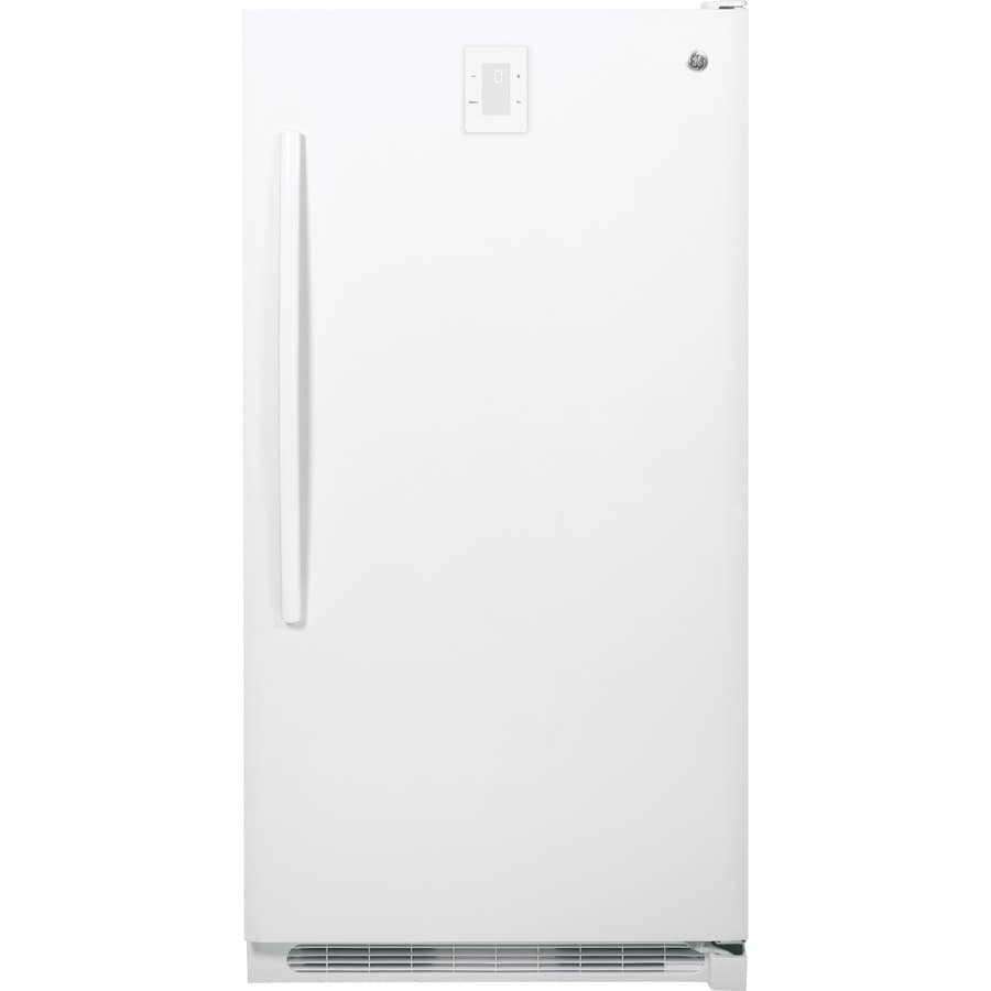GE 16.6-cu ft Frost-Free Upright Freezer (White)
