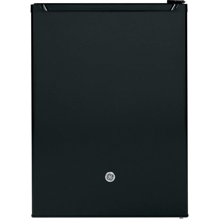 GE 5.6-cu ft Compact Refrigerator with Freezer Compartment (Black) ENERGY STAR