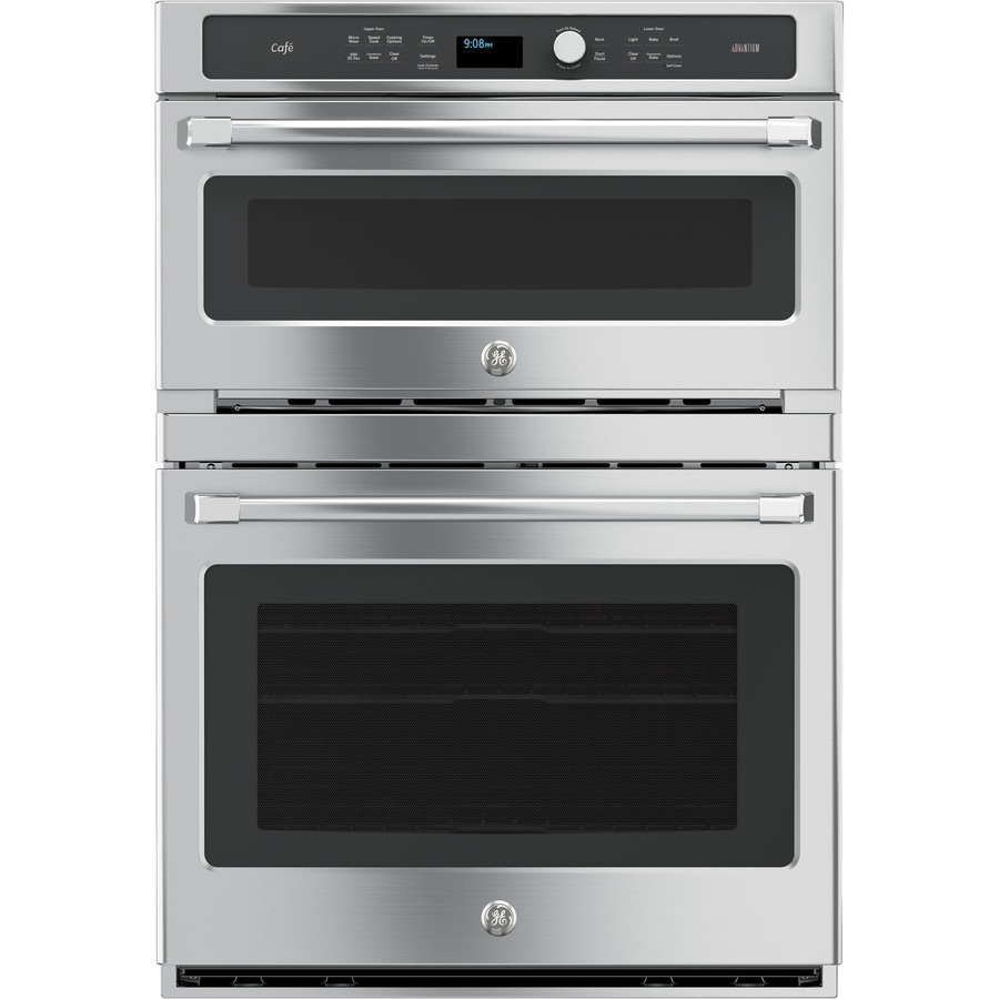 Double Wall Ovens ~ Shop ge cafe advantium self cleaning convection double