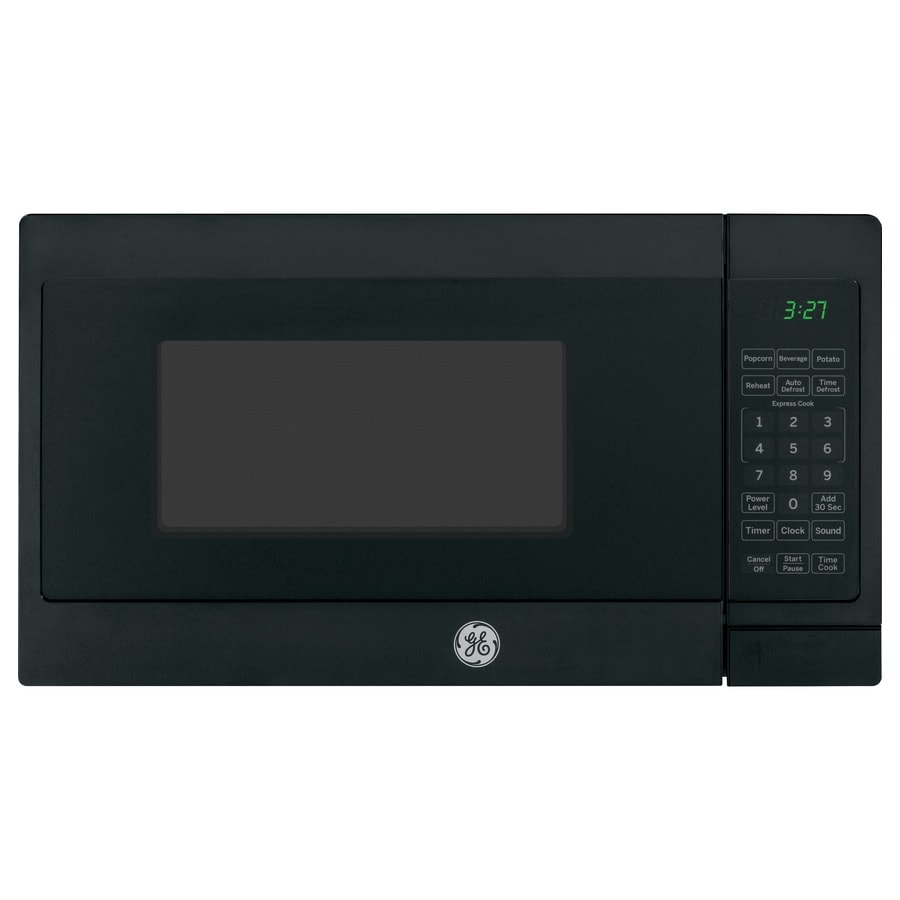 GE 0.7-cu ft 700-Watt Countertop Microwave (Black)