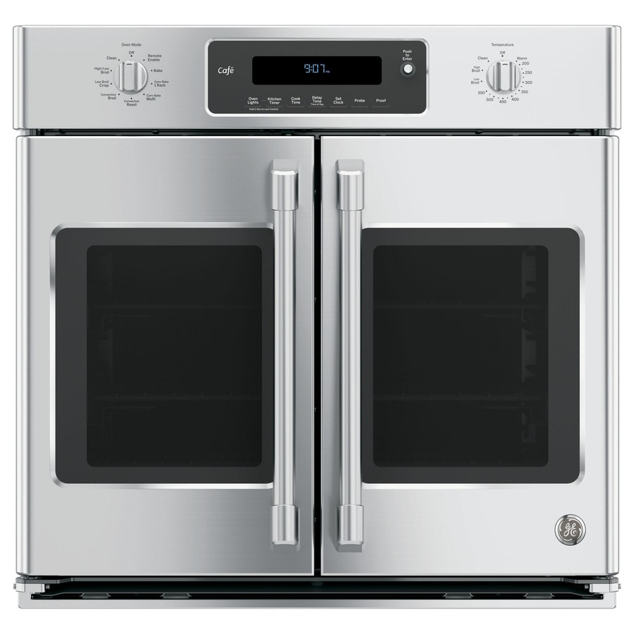 Shop Ge Cafe Self Cleaning True Convection Single Electric