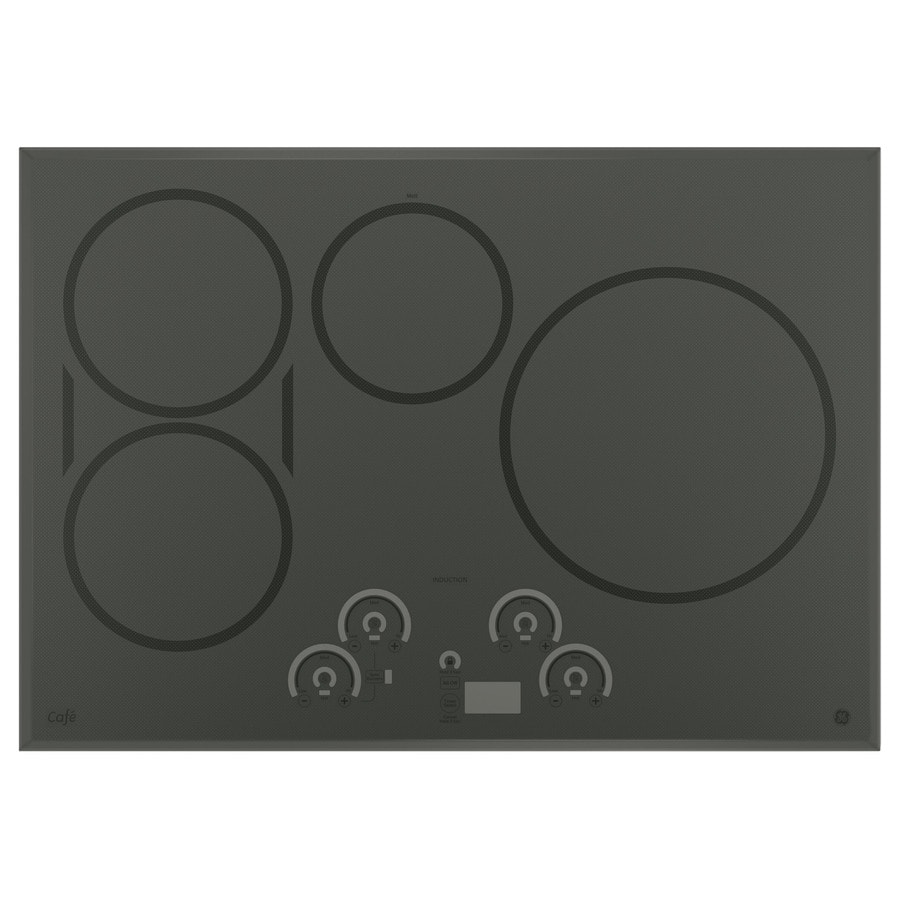 GE Cafe Smooth Surface Induction Electric Cooktop (Stainless Steel) (Common: 30-in; Actual 29.75-in)