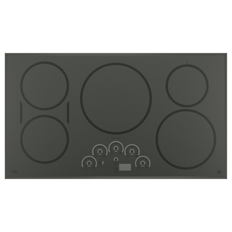 GE Cafe 5 Element Induction Cooktop (Stainless Look) (Common: 36 Inch