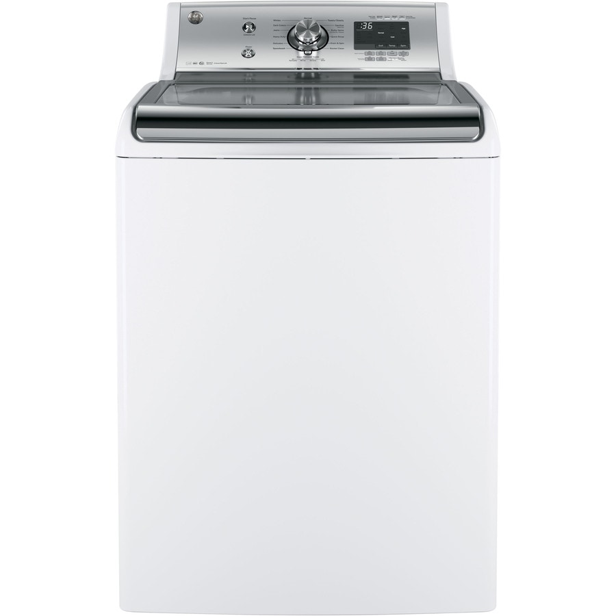 GE 5.1-cu ft High-Efficiency Top-Load Washer (White) ENERGY STAR