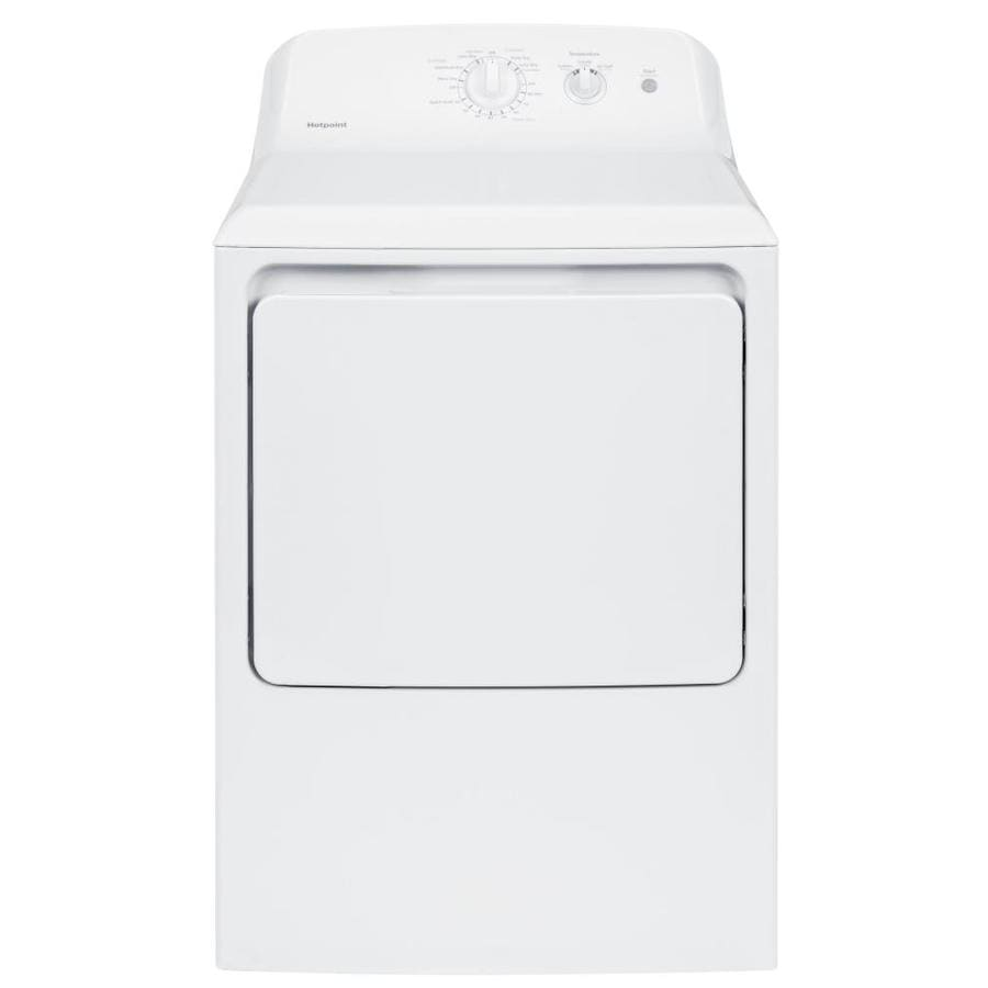 Hotpoint 6.2-cu ft Gas Dryer (White)