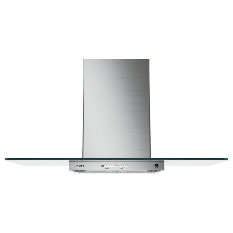 GE Profile Convertible Wall-Mounted Range Hood (Stainless Steel) (Common: 36-in; Actual: 36-in)