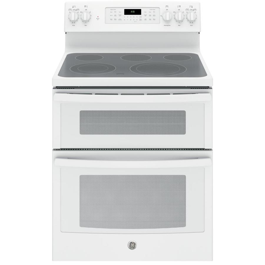 Whirlpool white ice electric range reviews - Ge 30 In Smooth Surface 5 Element 4 4 Cu Ft 2 2