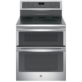 Ge Double Oven Electric Ranges At Lowes