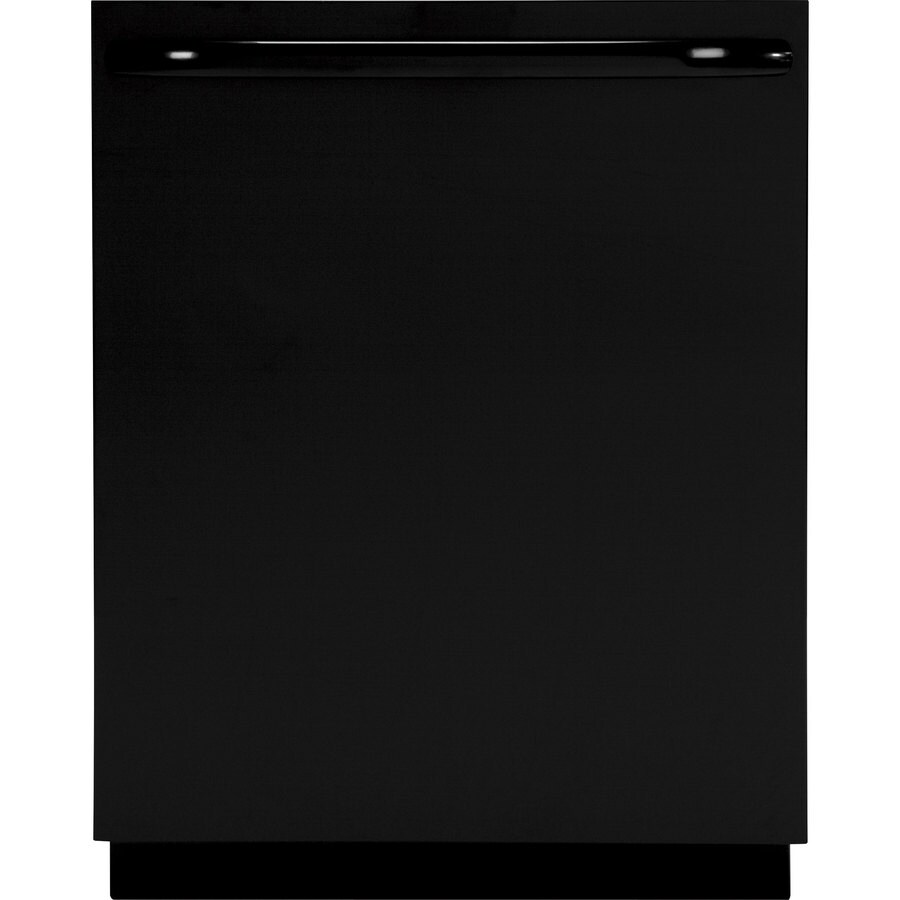 GE 57-Decibel Built-In Dishwasher (Black) (Common: 24-in; Actual: 24-in) ENERGY STAR