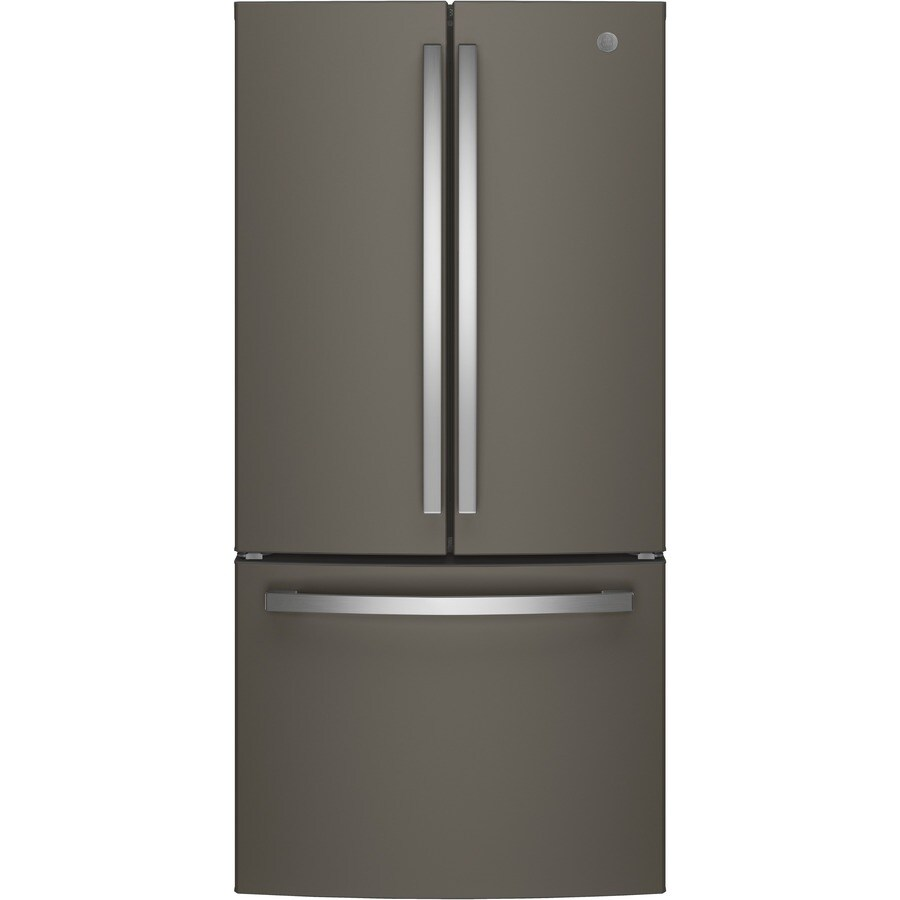 GE 24.8-cu ft French Door Refrigerator with Ice Maker (Slate) ENERGY STAR