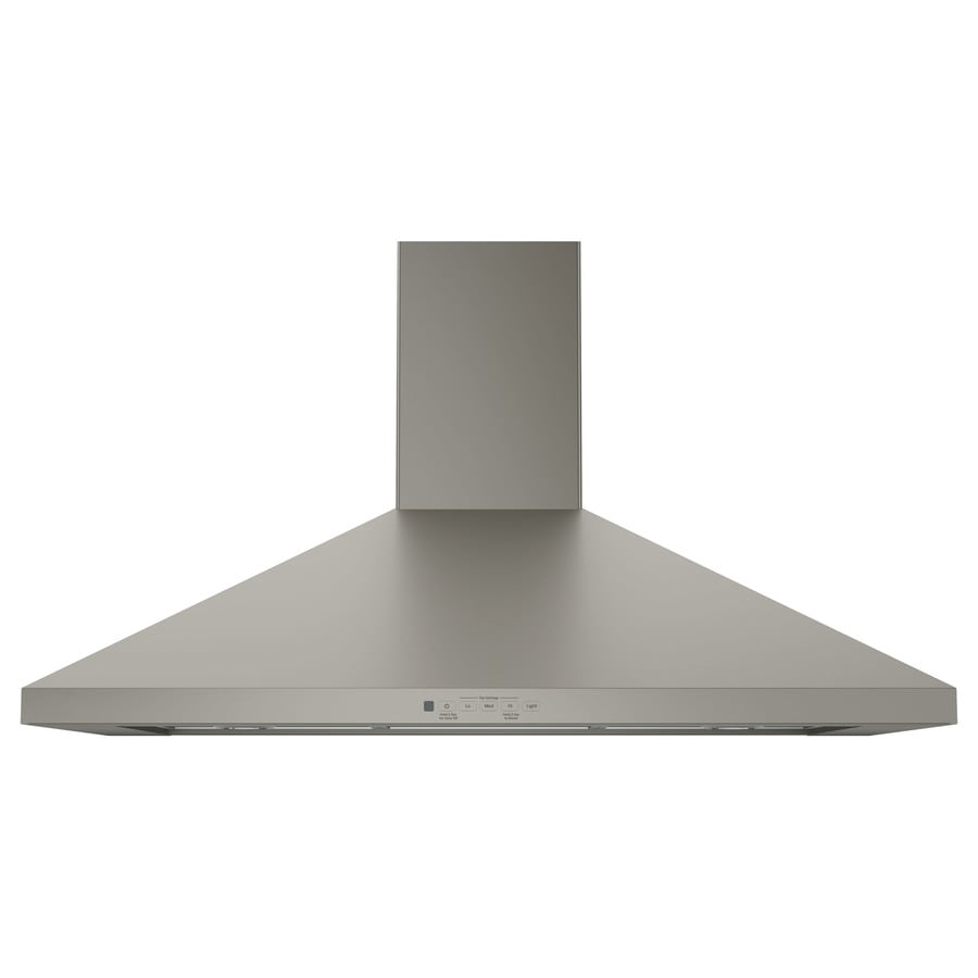 GE Convertible Wall-Mounted Range Hood (Slate) (Common: 36-in; Actual: 36-in)