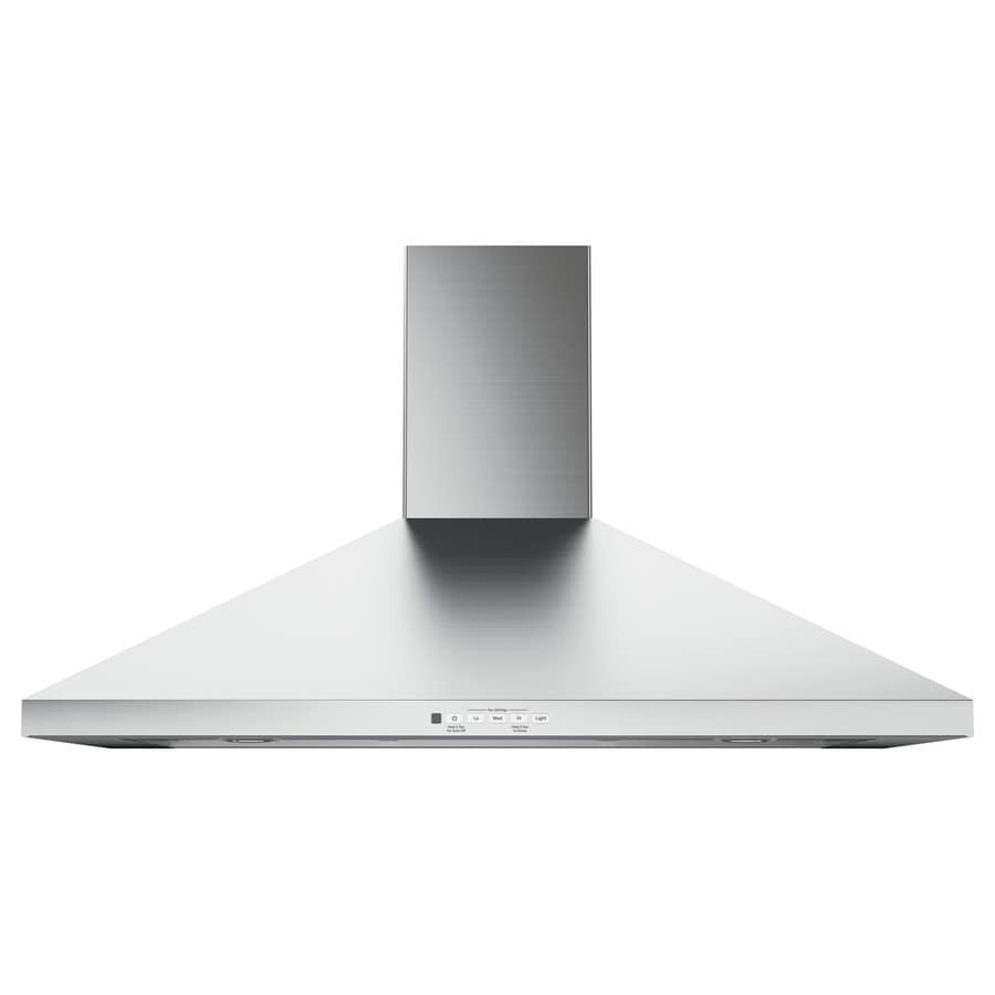 GE Convertible Wall-Mounted Range Hood (Stainless Steel) (Common: 36-in; Actual: 36-in)