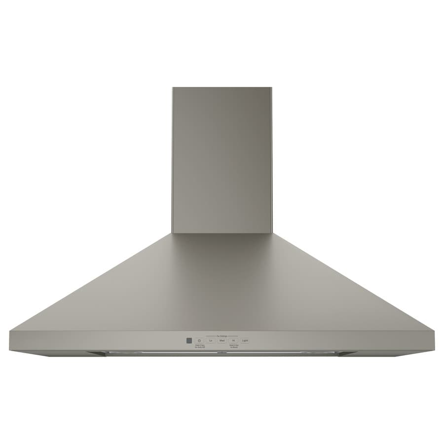 GE Convertible Wall-Mounted Range Hood (Slate) (Common: 30-in; Actual: 30-in)