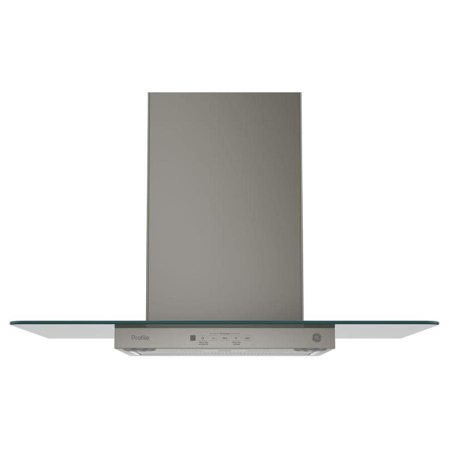 GE Profile Series Convertible Wall-Mounted Range Hood (Slate 30-in; Actual 30-in)