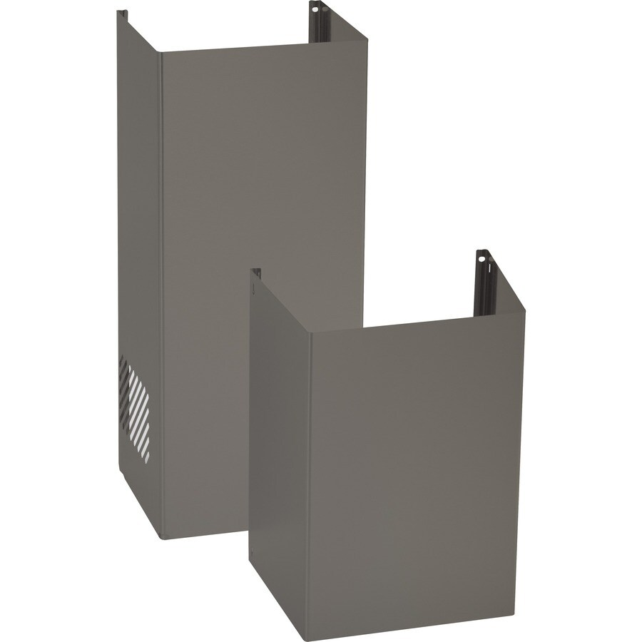 Shop Ge Wall Mounted Range Hood Flue Cover Slate At