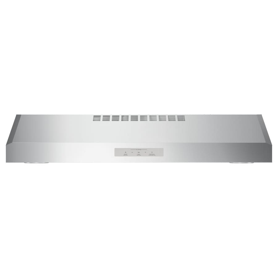 GE Profile Series Profile Undercabinet Range Hood (Stainless Steel) (Common: 30-in; Actual: 29.875-in)
