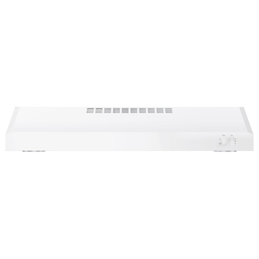 GE Undercabinet Range Hood (White On White) (Common: 30-in; Actual: 29.875-in)