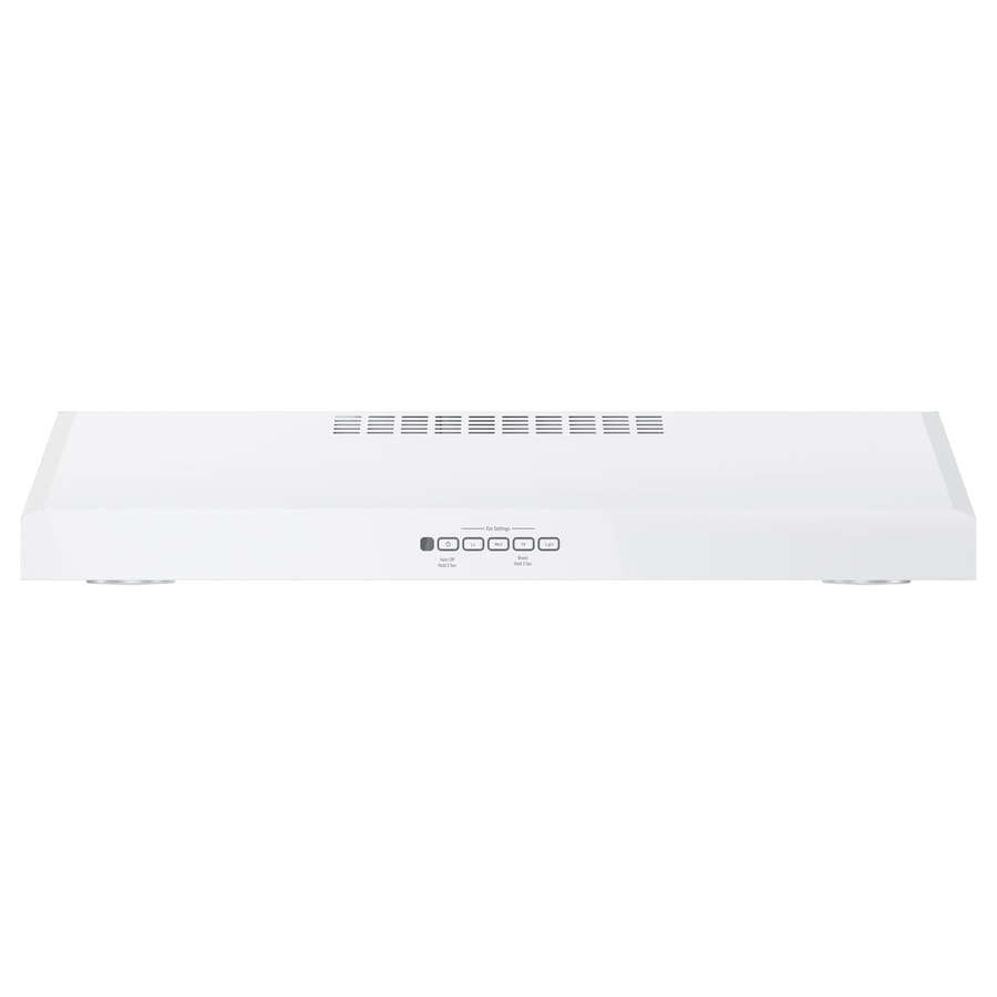 GE Undercabinet Range Hood (White) (Common: 30-in; Actual: 29.875-in)