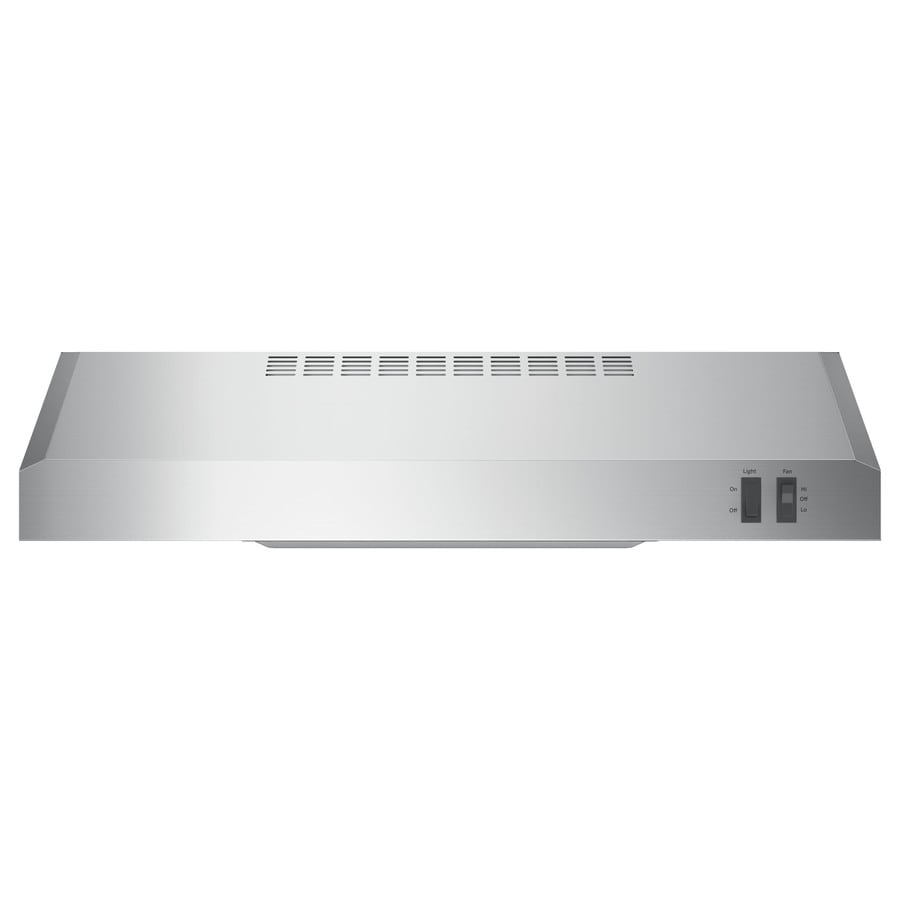 GE Undercabinet Range Hood (Stainless Steel) (Common: 24-in; Actual: 23.875-in)