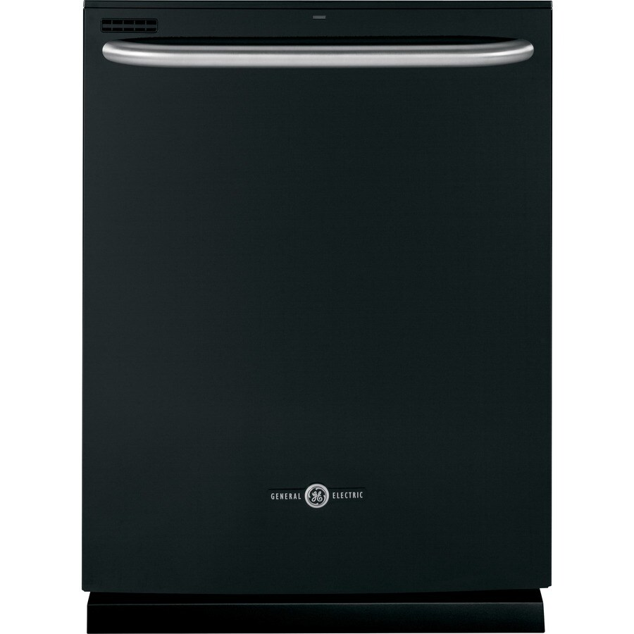 GE Artistry 54-Decibel Built-In Dishwasher with Hard Food Disposer (Black) (Common: 24-in; Actual: 23.75-in)