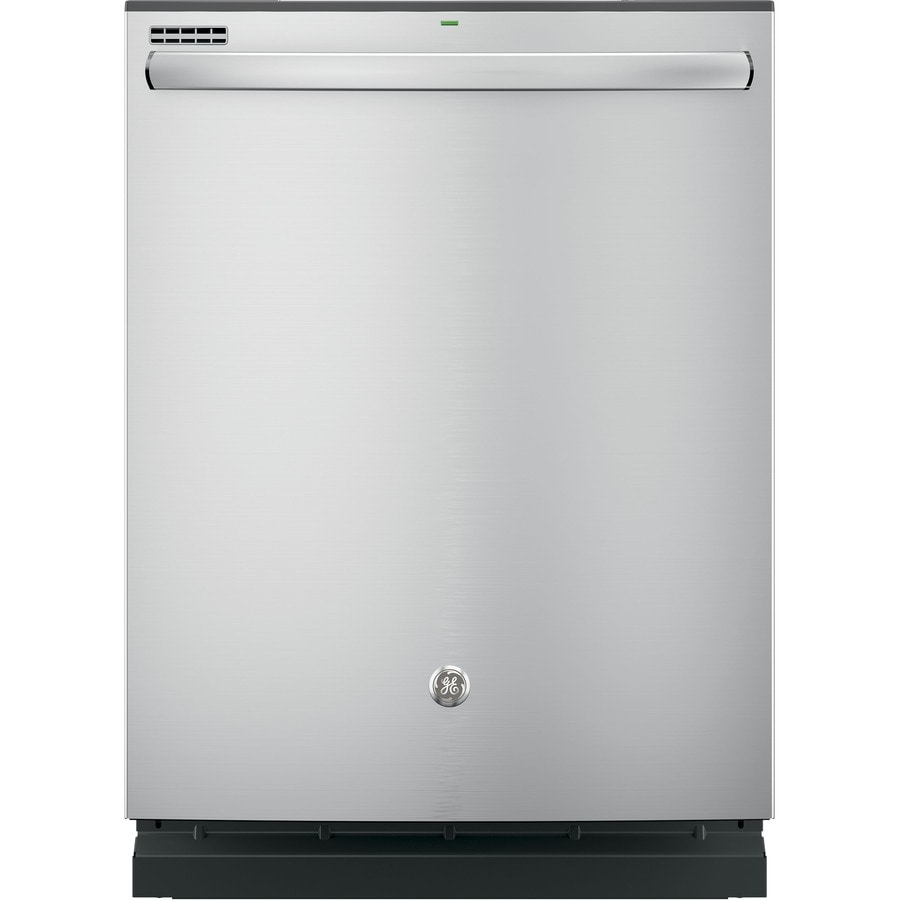 GE 51-Decibel Built-in Dishwasher (Stainless Steel) (Common: 24-in; Actual: 23.75-in) ENERGY STAR