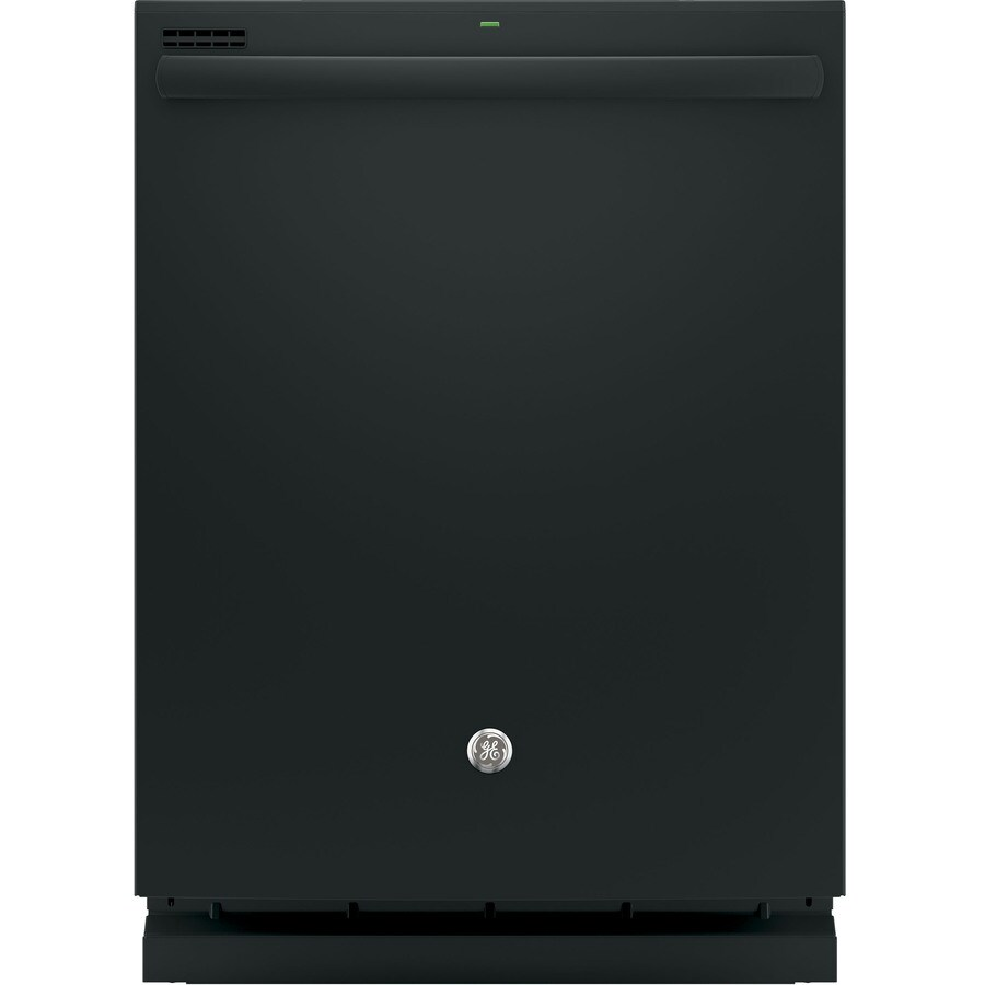GE 51-Decibel Built-In Dishwasher with Hard Food Disposer (Black) (Common: 24-in; Actual: 23.75-in)